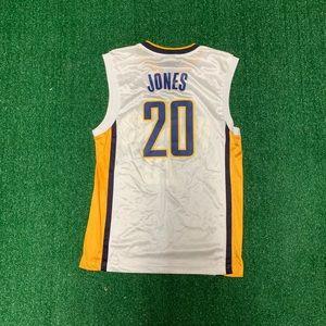 NBA Shirts - NBA Fred Jones Indiana Pacers Jersey Size Medium